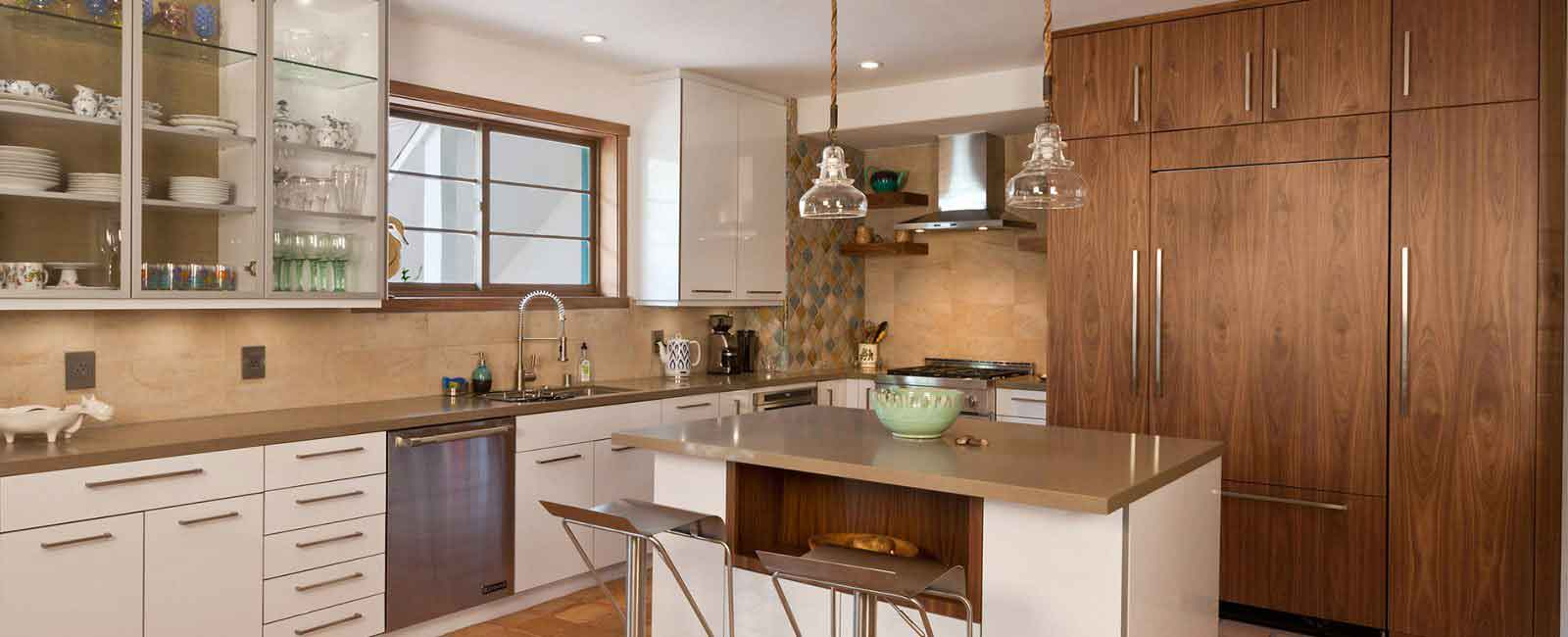 Kitchen Cabinet Refacing In Santa Monica CA